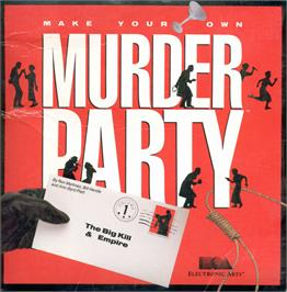 Box cover for Make Your Own Murder Party on the Apple II.
