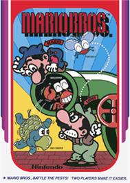 Box cover for Mario Bros. on the Apple II.