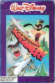 Box cover for Matterhorn Screamer on the Apple II.
