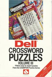 Box cover for Mickey's Crossword Puzzle Maker on the Apple II.