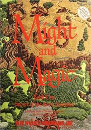 Box cover for Might and Magic: Secret of the Inner Sanctum on the Apple II.