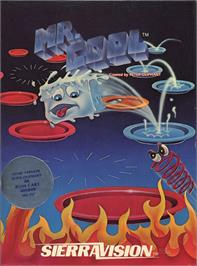 Box cover for Mr. Cool on the Apple II.