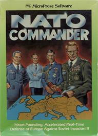 Box cover for NATO Commander on the Apple II.
