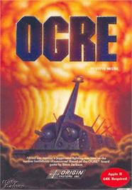 Box cover for Ogre on the Apple II.