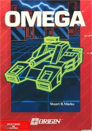 Box cover for Omega on the Apple II.