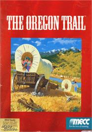 Box cover for Oregon Trail on the Apple II.