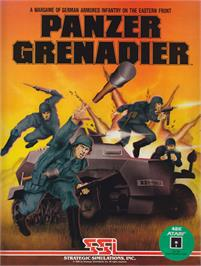 Box cover for Panzer Grenadier on the Apple II.