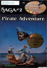 Box cover for Pirate Adventure on the Apple II.