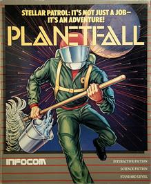 Box cover for Planetfall on the Apple II.