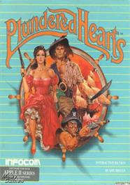 Box cover for Plundered Hearts on the Apple II.