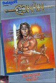 Box cover for Pooyan on the Apple II.