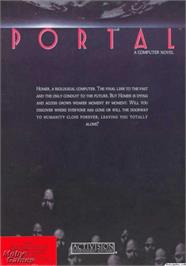 Box cover for Portal on the Apple II.