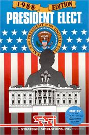 Box cover for President Elect on the Apple II.