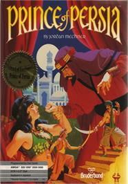 Box cover for Prince of Persia on the Apple II.