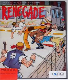 Box cover for Renegade on the Apple II.