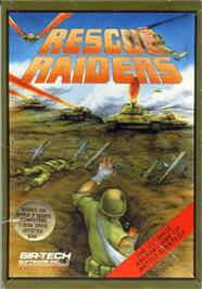 Box cover for Rescue Raiders on the Apple II.