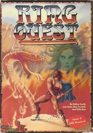 Box cover for Ring Quest on the Apple II.