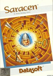 Box cover for Saracen on the Apple II.