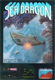 Box cover for Sea Dragon on the Apple II.