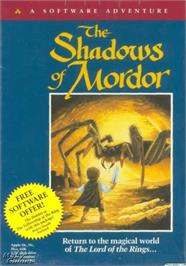 Box cover for Shadows of Mordor on the Apple II.