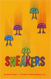 Box cover for Sneakers on the Apple II.