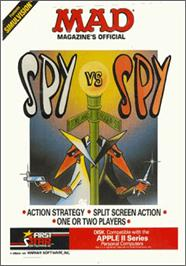 Box cover for Spy vs. Spy on the Apple II.