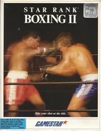 Box cover for Star Rank Boxing 2 on the Apple II.