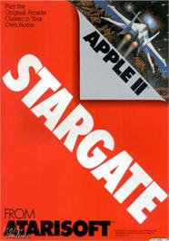 Box cover for Stargate on the Apple II.