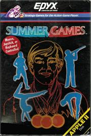 Box cover for Summer Games on the Apple II.