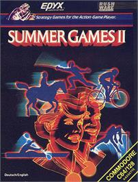 Box cover for Summer Games 2 on the Apple II.