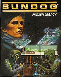 Box cover for SunDog: Frozen Legacy on the Apple II.