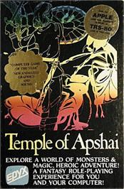 Box cover for Temple of Apshai Trilogy on the Apple II.