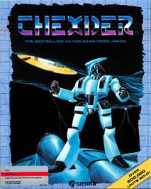 Box cover for Thexder on the Apple II.