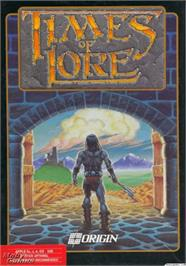 Box cover for Times of Lore on the Apple II.