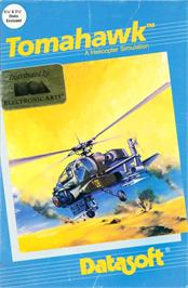Box cover for Tomahawk on the Apple II.