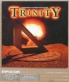 Box cover for Trinity on the Apple II.
