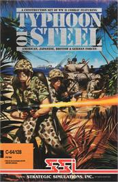 Box cover for Typhoon of Steel on the Apple II.