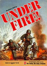 Box cover for Under Fire on the Apple II.