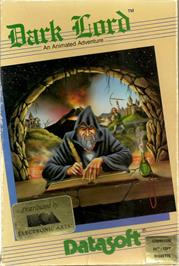 Box cover for Wacky Wizard on the Apple II.