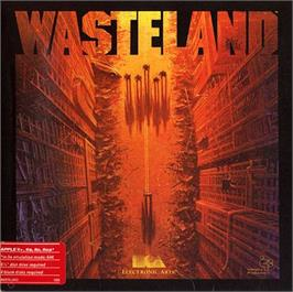 Box cover for Wasteland on the Apple II.