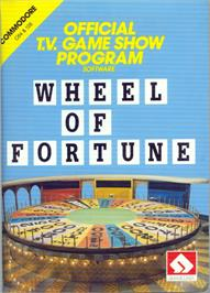 Box cover for Wheel Of Fortune on the Apple II.
