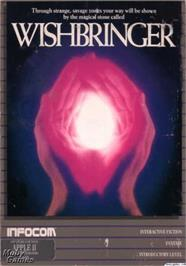 Box cover for Wishbringer on the Apple II.