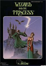 Box cover for Wizard and the Princess: Hi-Res Adventure #2 on the Apple II.