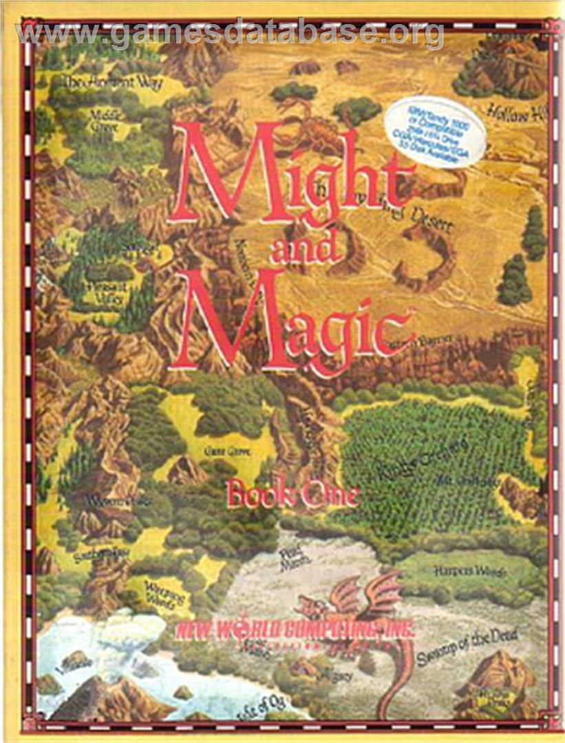 Might and Magic 2: Gates to Another World - Apple II - Artwork - Box