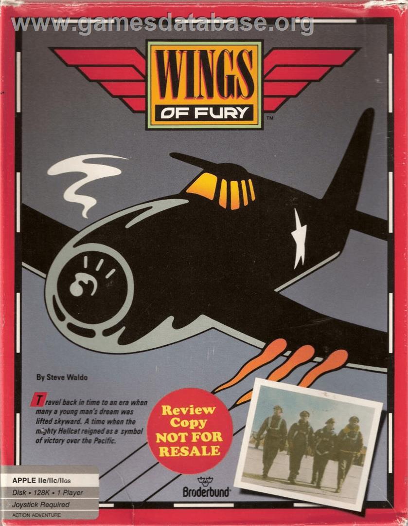 Wings of fury apple ii games database for Wings of fury