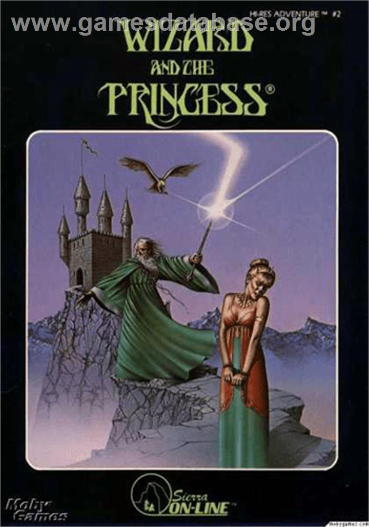 Wizard and the Princess: Hi-Res Adventure #2 - Apple II - Artwork - Box