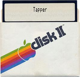 Artwork on the Disc for Tapper on the Apple II.