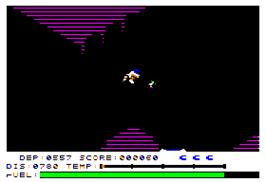 In game image of 3 Pack on the Apple II.