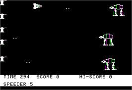 In game image of Battle of Shiloh on the Apple II.