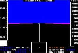 In game image of Jet on the Apple II.